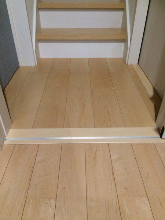 床材の幅について