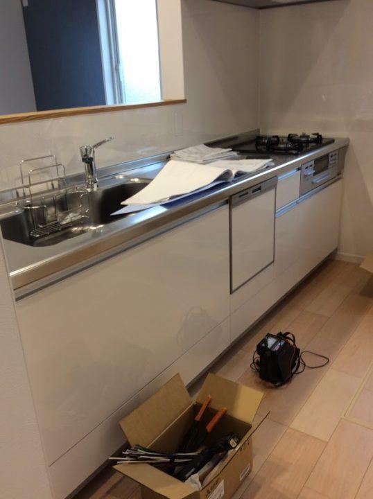 新築の反省点①② キッチンの高さと水栓