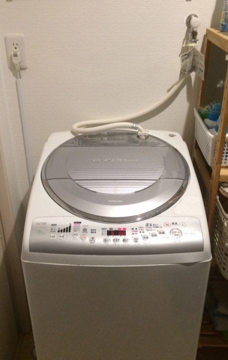 洗濯機を捨ててきた