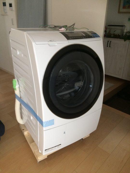 洗濯機が壊れたのでメルカリで購入